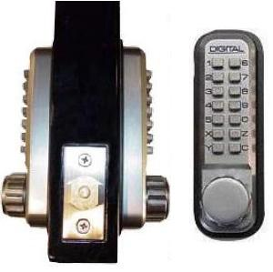 Keyless Gate Lock Lockey 2210dc Deadbolt Double Sided