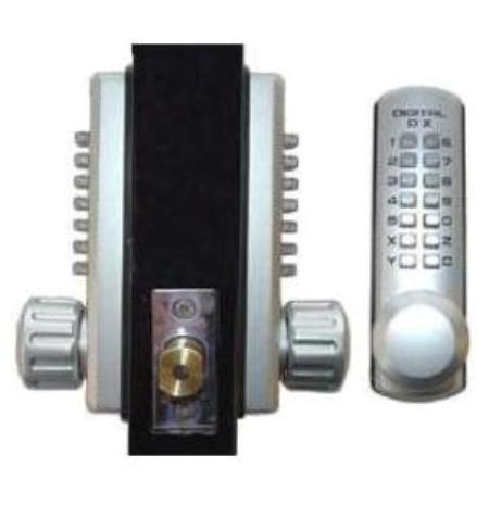 Keyless Gate Lock Lockey 3210dc Deadbolt Double Sided