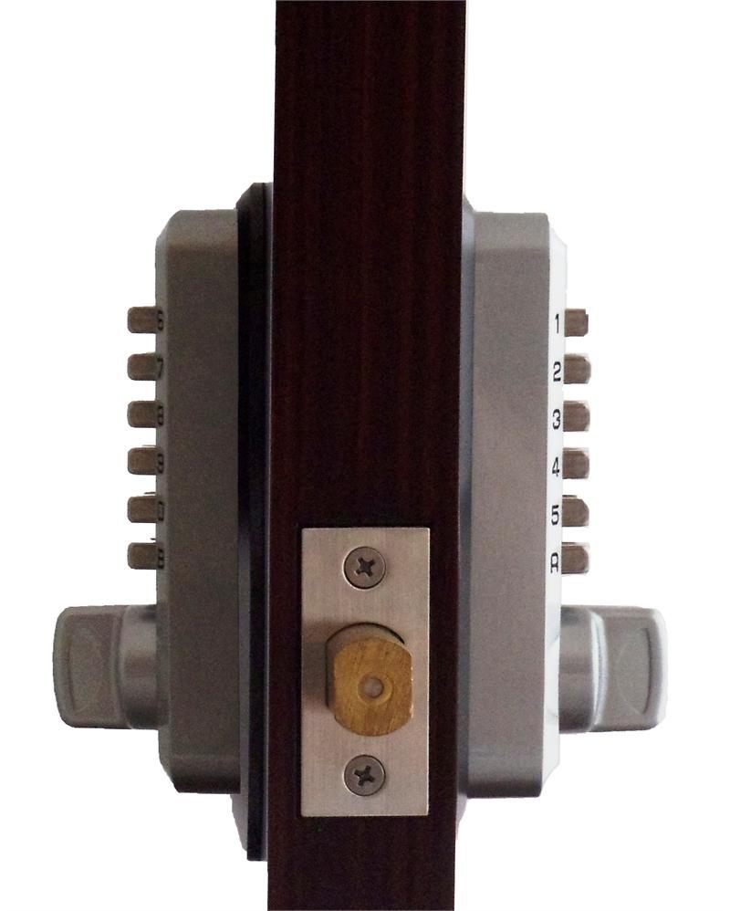 Keyless Gate Lock Lockey M210dc Deadbolt Double Sided