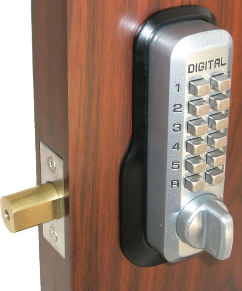 Keyless Gate Lock Lockey M210 Deadbolt Single Sided Mechanical