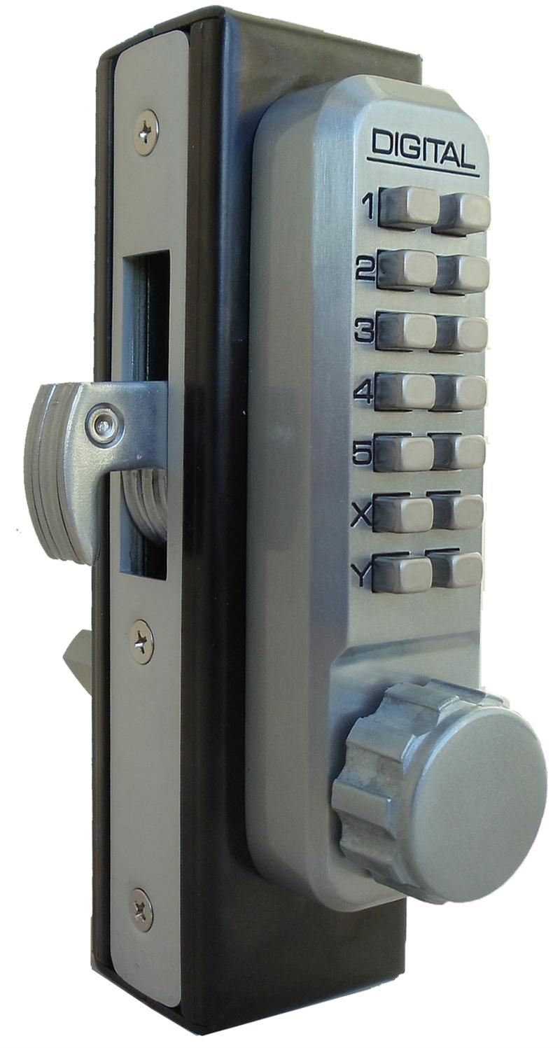 Lockey 2950dc Keyless Mechanical Digital Mortised Hook