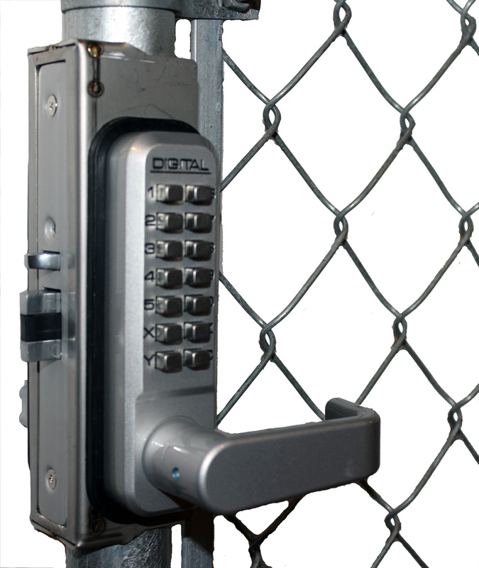 Chain Link Fence Gate Lock Box