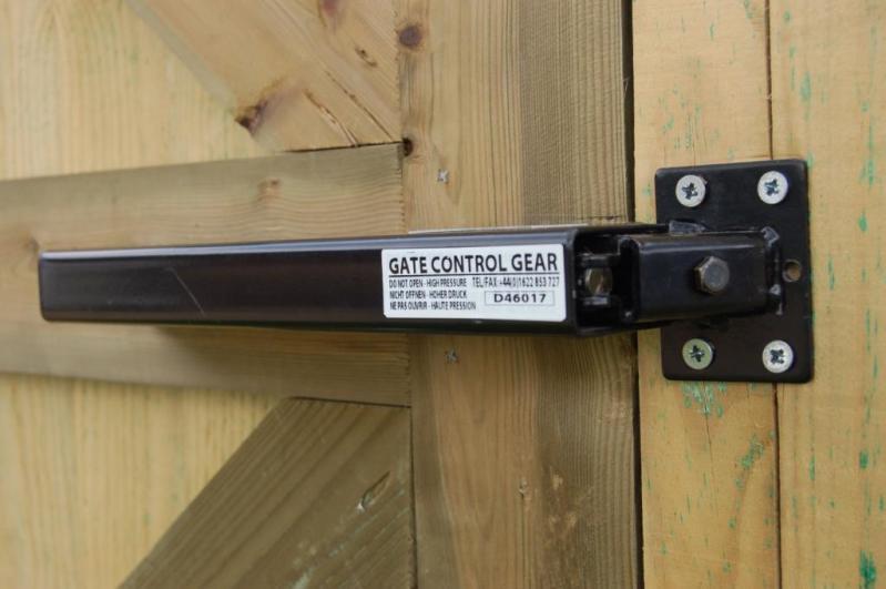 Hydraulic Gate Closer Lockey Tb175 Black