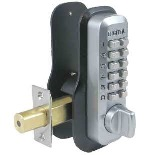 Lockey M210DCEZ Keyless Mechanical Digital Double Sided Deadbolt Door Lock
