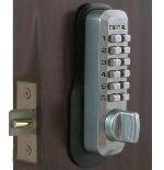Lockey M230DC MG Keyless Mechanical Digital Double Sided Springlatch Gate Lock