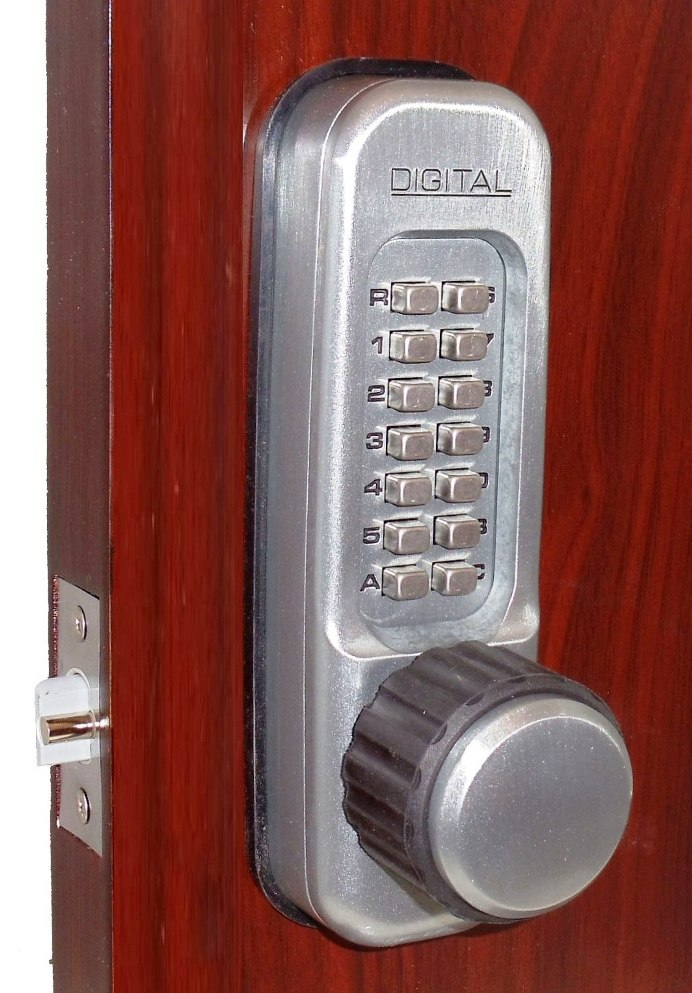 Keyless Gate Lock Lockey 1600dc Spring Latch Double Sided