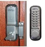 Keyless Gate Lock Lockey 2200 Surface Mount Single Sided