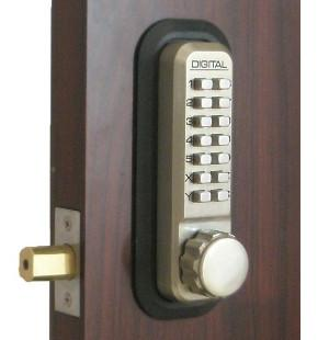 Keyless Gate Lock Lockey 2210 Deadbolt Single Sided Mechanical