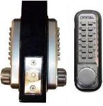 Keyless Gate Lock Lockey 2210DC Deadbolt Double Sided Mechanical