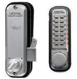 Keyless Sliding Gate Lock Lockey 2500 Hook Single Sided