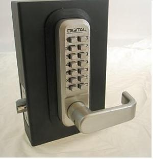 Keyless Gate Lock Lockey 2835 Spring Latch Single Sided