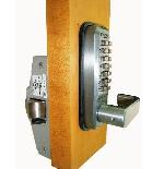 Lockey Keyless Panic Bar Exit Door Lock 285-P