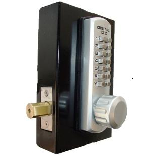 Keyless Gate Lock Lockey 3210 Deadbolt Single Sided Mechanical