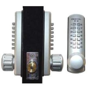 Keyless Gate Lock Lockey 3210DC Deadbolt Double Sided Mechanical
