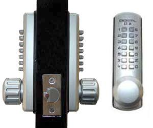 Keyless Gate Lock Lockey 3230dc Spring Latch Double Sided