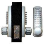 Keyless Gate Lock Lockey 3230DC Spring Latch Double Sided Mechanical