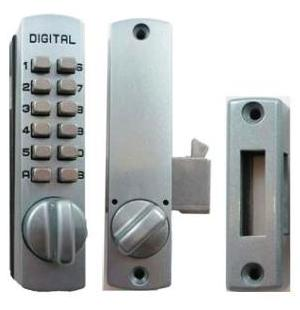 Lockey Keyless Entry Sliding Door Lock C150 Hook Mechanical