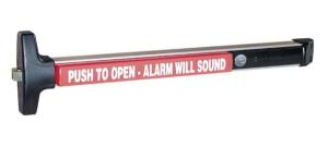 "Detex V-40xEBxW Rim Panic Exit Device Standard Door Stile With Exit Alarm 36"" Weatherproof"