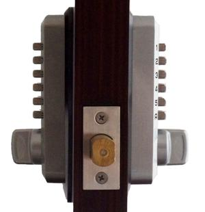 Keyless Gate Lock Lockey M210DC MG Deadbolt Double Sided