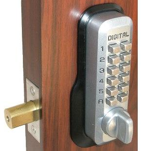 Keyless Gate Lock Lockey M210 MG Deadbolt Single Sided