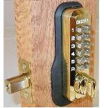 Lockey Keyless Entry Door Lock M210 Deadbolt Mechanical