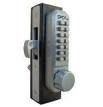 Lockey 2950 Keyless Mechanical Digital Mortised Hook Bolt Door Lock