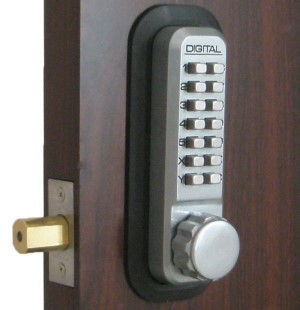 Lockey 2210DC Marine Grade Keyless Mechanical Digital Double Sided Combination Deadbolt Door Lock
