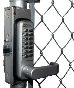 Lockey GB2900-LINX Chainlink Gate Box for 2900 Series Locks
