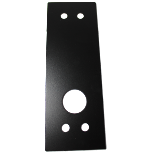 Lockey T-Cover, Cover Plate for 1100 and 1600 Series Locks, Black