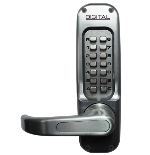 Keyless Gate Lock Lockey 1150DC MG Spring Latch Double Sided