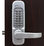 Lockey Keyless Entry Door Lock 1150 MG Spring Latch