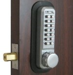 Lockey 2210MG Marine Grade Keyless Mechanical Digital Deadbolt Door Lock