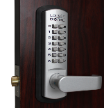 Lockey 3835 Keyless Mechanical Passage Lever Lock