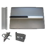 Lockey ED-44 & ED-45 EDGE Value Panic Shield Kit With PB2500 Panic Bar & Alarm Option