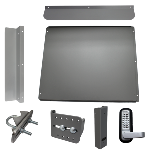 Lockey ED-60 EDGE-Security Panic Shield Kit for User Supplied Panic Bar