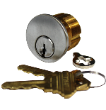 Detex Key Cylinder for Alarmed Panic Bar